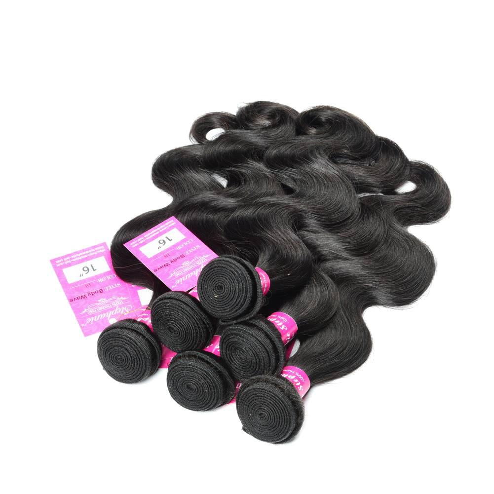 Body Wave Weave Human Hair Bundles 5