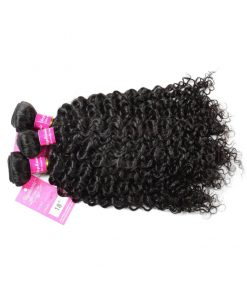 Curly Wave Hair Bundles Virgin Human Hair 3