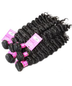 Deep Wave Human Hair Weave Bundles Deals 12
