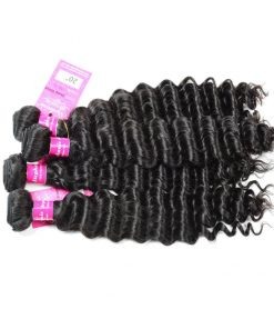 Deep Wave Human Hair Weave Bundles Deals 6