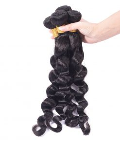 Loose Deep Wave Human-Hair Weave Sale 7