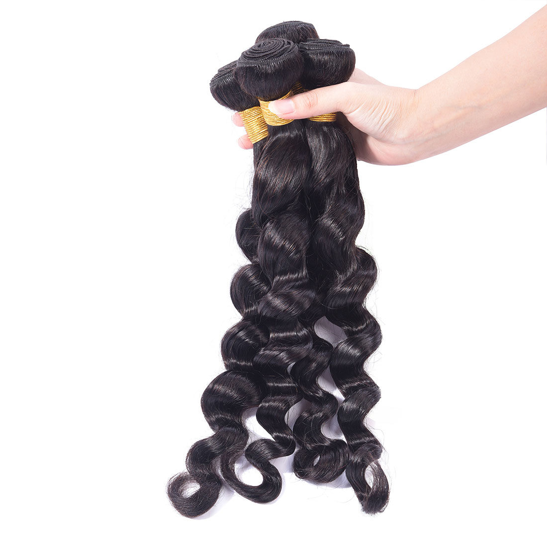 Loose Deep Wave Human-Hair Weave Sale 7