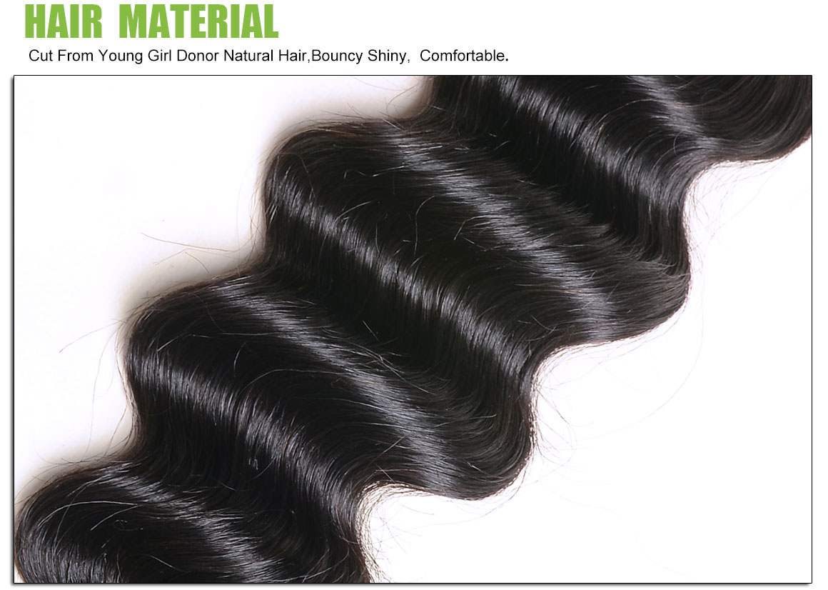 loose deep wave hair bundles 1