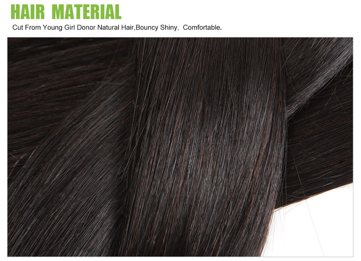 straight human hair bundles material 03