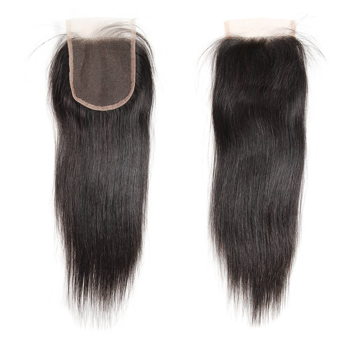 straight human hair lace closure 06