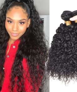 Brazilian Water Waves Hair Virgin Human Hair 4 Bundles deals