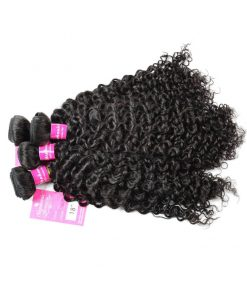 Curly Wave Hair Bundles Virgin Human Hair 8