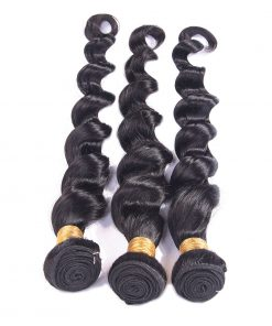 Loose Deep Wave Human-Hair Weave Sale 2