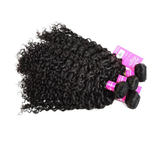 Curly Wave Hair Bundles Virgin Human Hair 6
