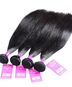 Straight Human Hair Weave 4