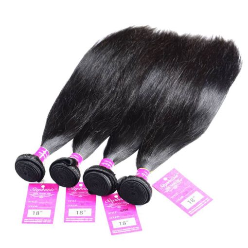 Straight Human Hair Weave 4
