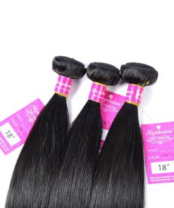 Straight Human Hair Weave 8