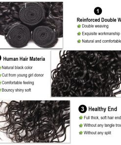 Water Wave Hair Weave Bundles 3