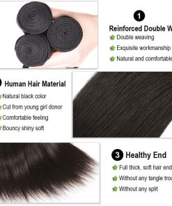 Straight Hair Bundles Description