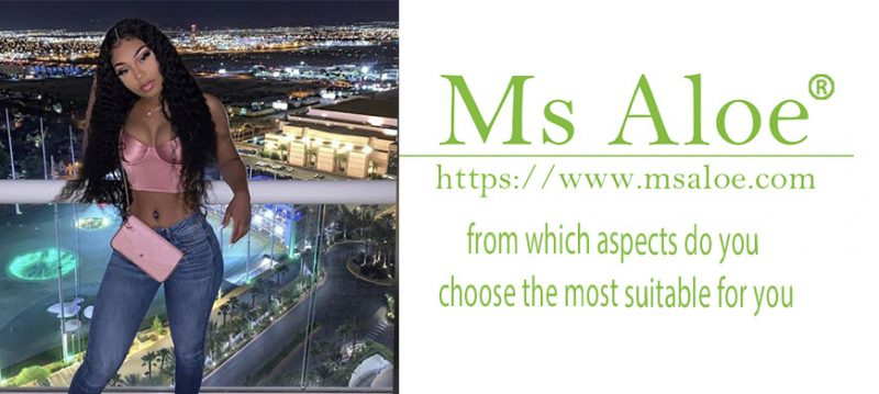 from which aspects do you choose the most suitable for you