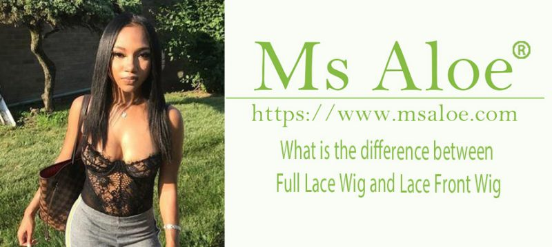 What is the difference between Full Lace Wig and Lace Front Wig