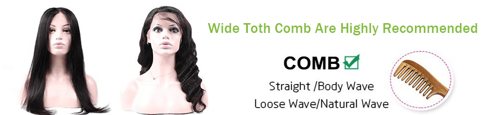 Wide Toth Comb Are Highly Recommended