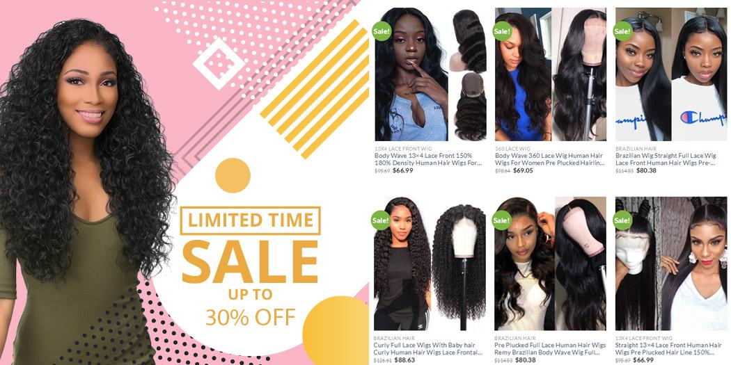 lace front wig sale