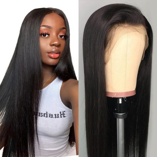 straight 360 lace front wig