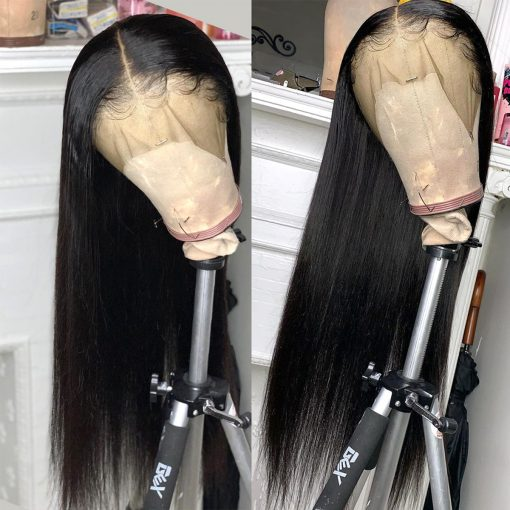 straight lace wig 1