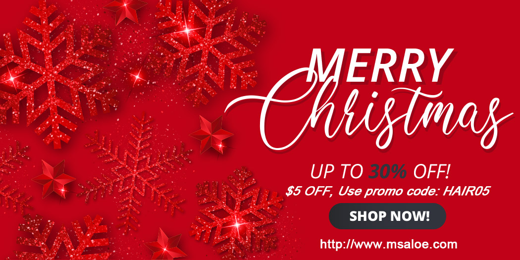 ms aloe hair christmas sale