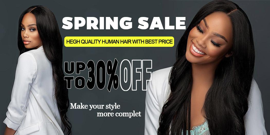 human hair sring sale