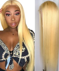 Blonde Straight Hair 13x6 Lace Front Wigs