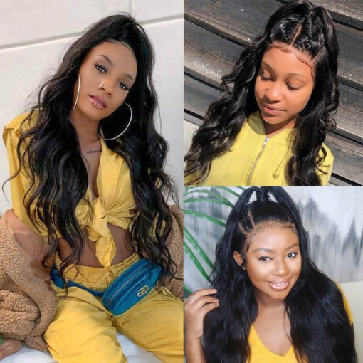 body wave 13x6 lace front wig
