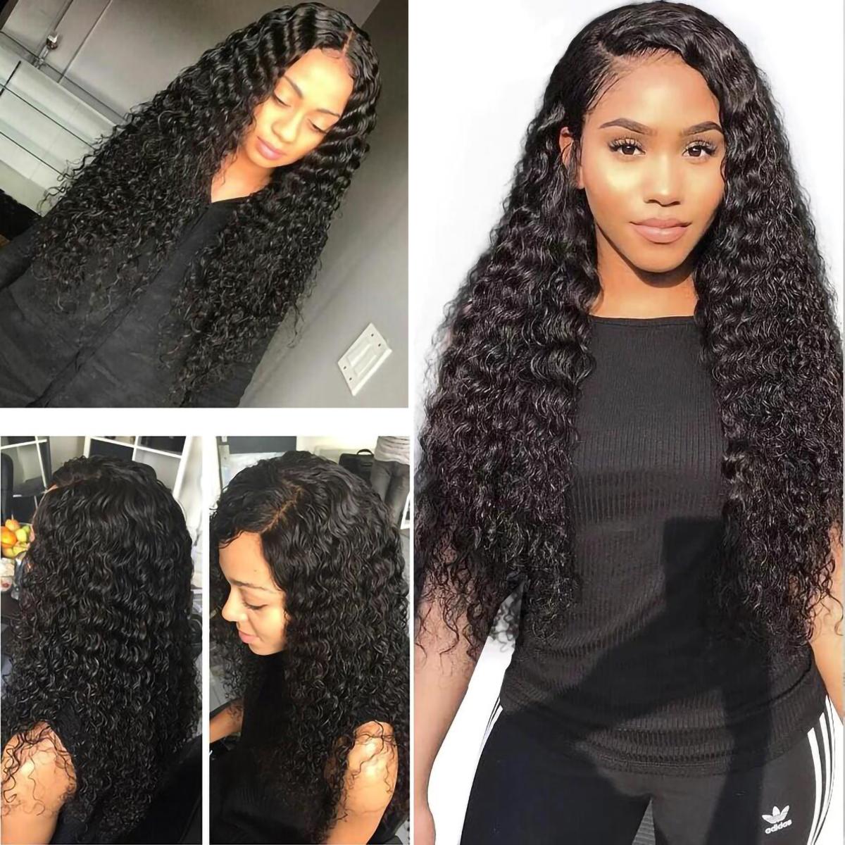 Deep Wave 4x4 Lace Closure Wig