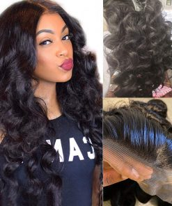 Loose Wave 4x4 Lace Closure Wig