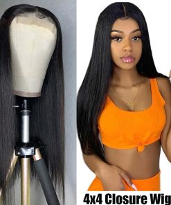 Straight 4x4 Lace Front Wig
