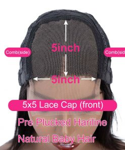 5x5 Lace Closure Wigs