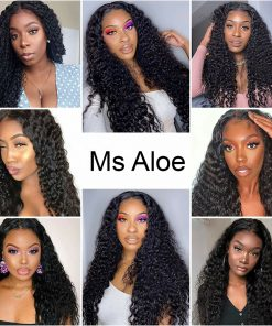 Curly 5x5 Lace Closure Wig
