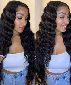 Loose Deep Wave 5X5 Lace Closure Wigs